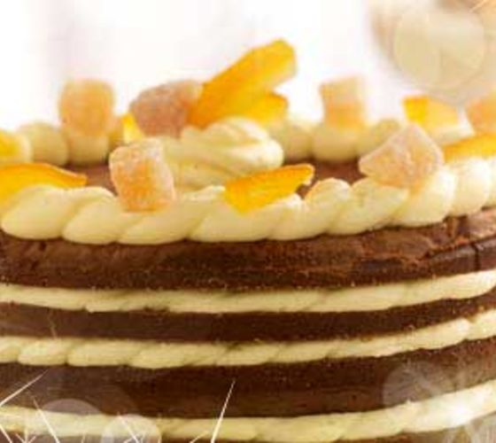 Gingerbread Mille Feuille