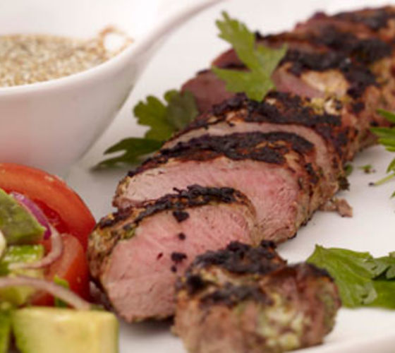 Marinated Pork with Yoghurt and Coriander