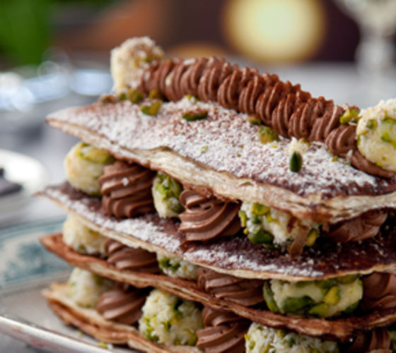 Millefeuille of Chocolate