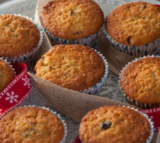 Mincemeat Christmas Cupcakes