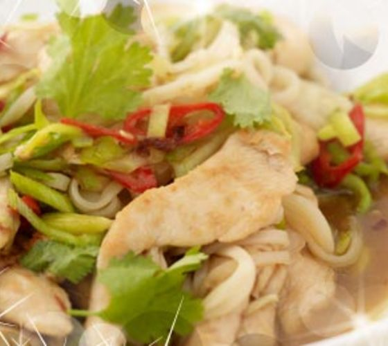 Pad Thai Chicken with Noodles