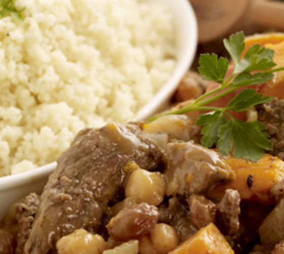 Beef Tagine with Cous Cous