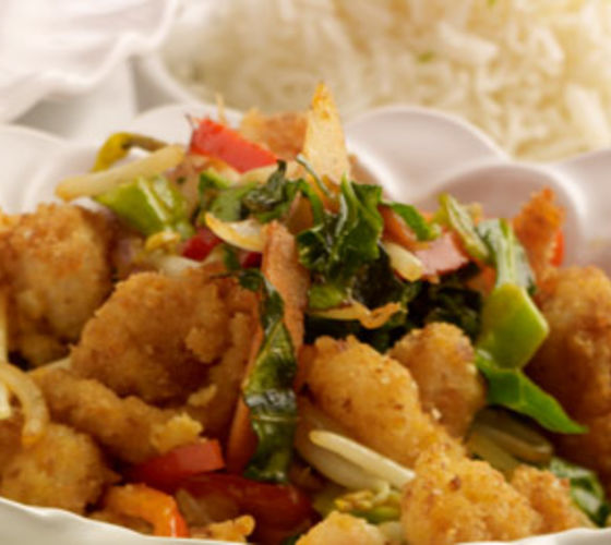 Sweet & Sour Stir Fry with Basmati Rice
