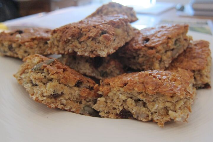 Homemade Oat Bars