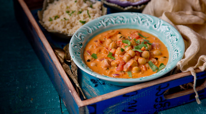10 minute indian chickpea curry recipe