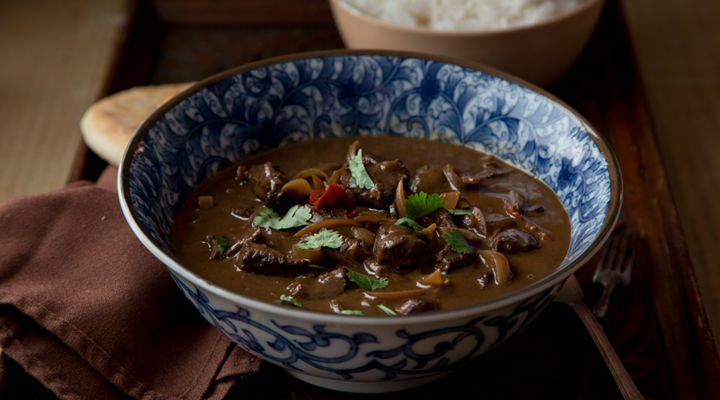 Massaman beef curry fragrant rice recipe