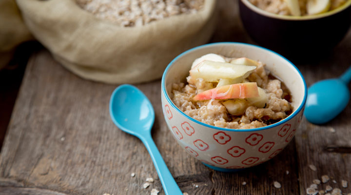 Prepare ahead porridge apple banana recipe