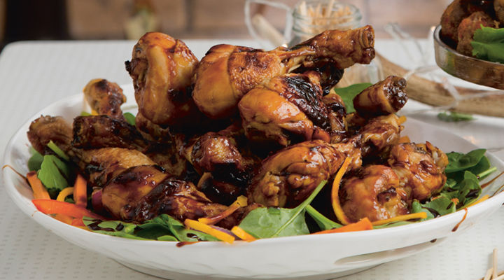 Sticky barbecue chicken 2recipe