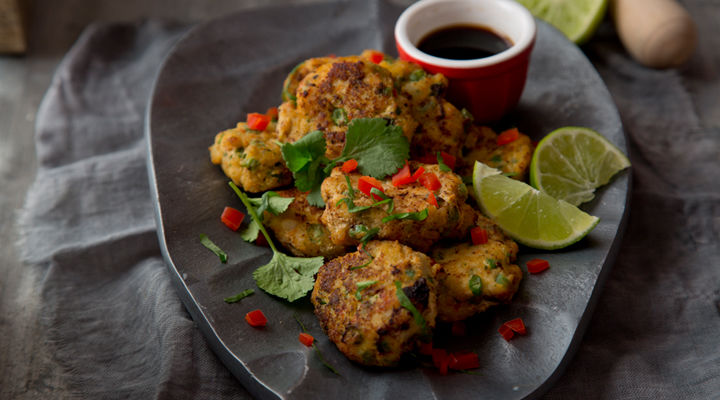 Thai cod fishcakes recipe
