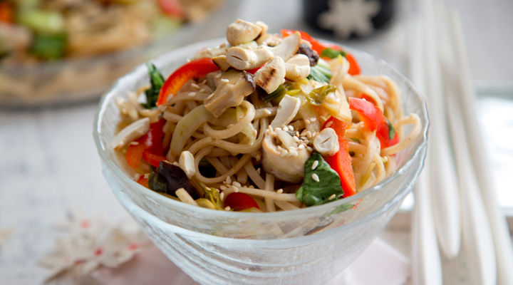 Asian stir fry noodles recipe