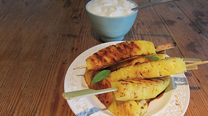 Grilled pineapple recipe