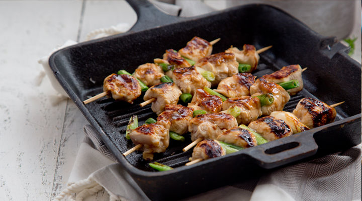 Japanese chicken yakitori skewers recipe