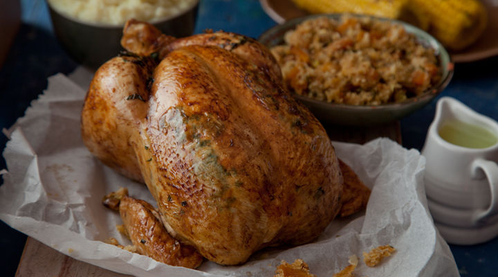 Roast chicken herb butter recipe