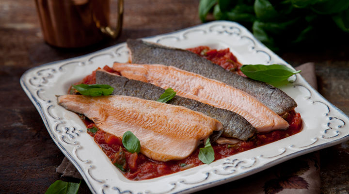Sea trout recipe