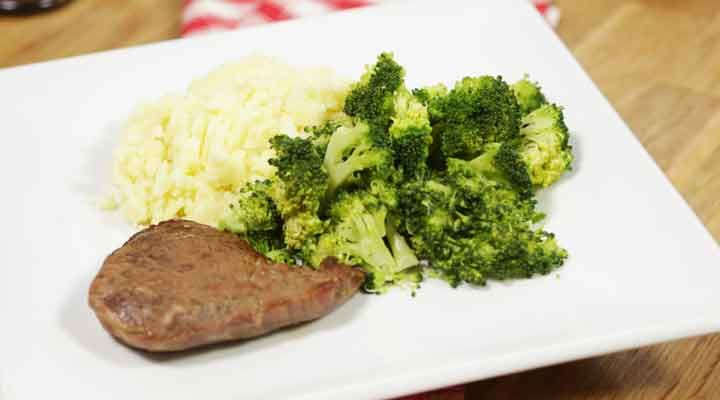 Steak and mash recipe