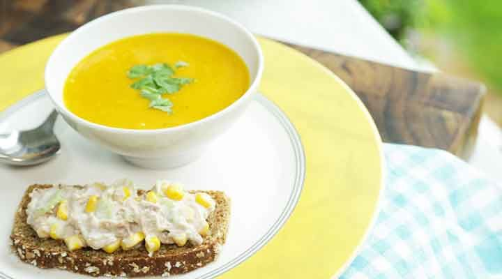 Tuna sandwich soup recipe