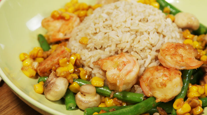 No Chop Prawn Stir Fry Recipe