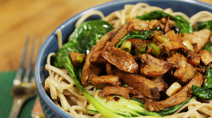 Szechuan Pork Noodles Recipe