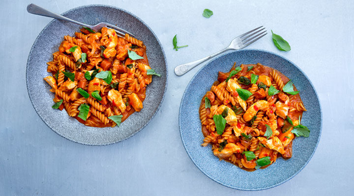 One pot chicken and chorizo pasta supervalu chicken chorizo pasta recipe forumfinder Choice Image