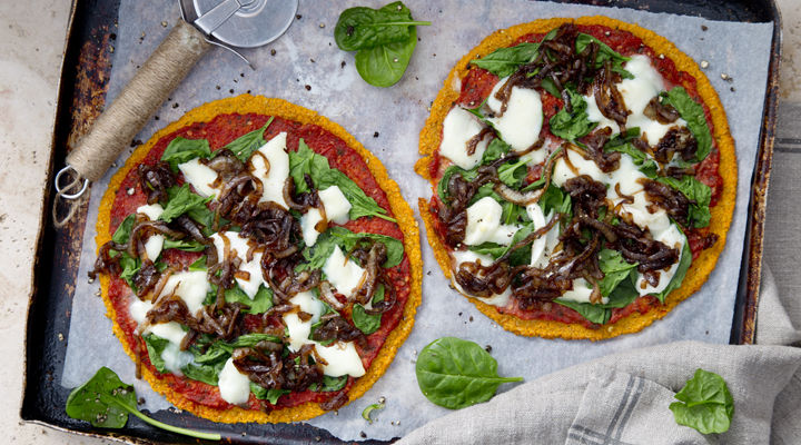 Sweet potato pizzar recipe