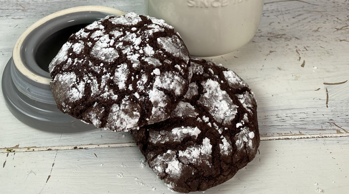 Crinkle cookies recipe