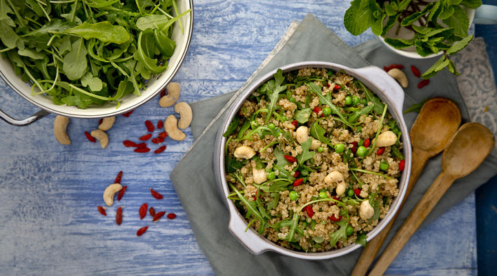Quinoa Salad With Peas And Mint Supervalu