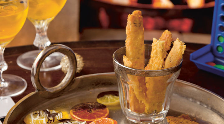 Oaty cheese straws
