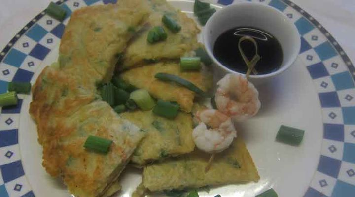 Korean seafood pancake recipe