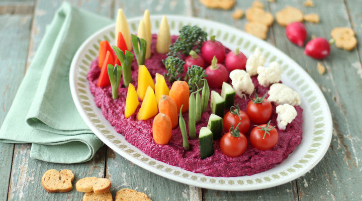 SuperValu Easter Recipes Sharon Hearne-Smith Spring Vegetable Patch wit hBeetroot