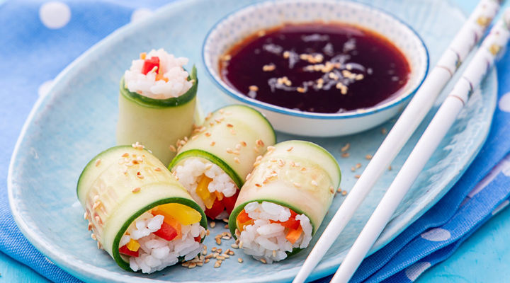 SuperValu Sharon Hearne-Smith Cucumber Sushi Rolls
