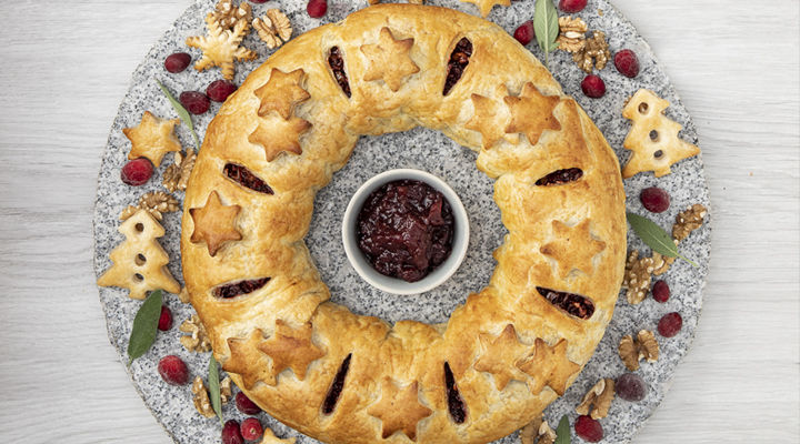 SuperValu The Happy Pear Beet Walnut Pastry Wreath