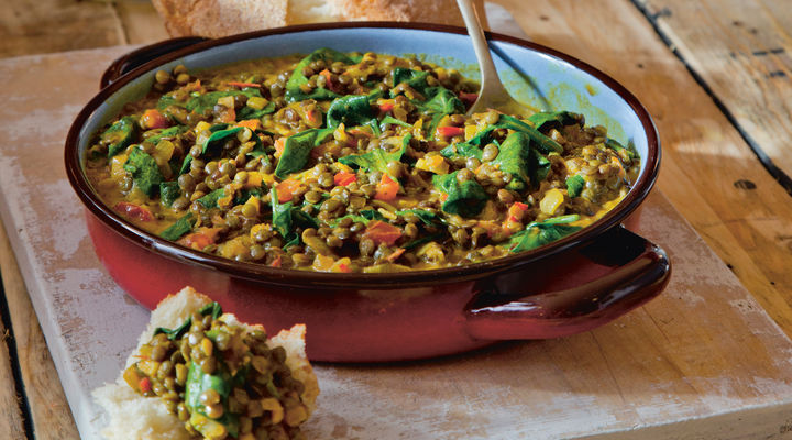 SuperValu The Happy Pear Quick Coconut Lentil Spinach Curry