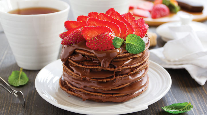 Chocolate Strawberry Stuffed Pancakes Supervalu