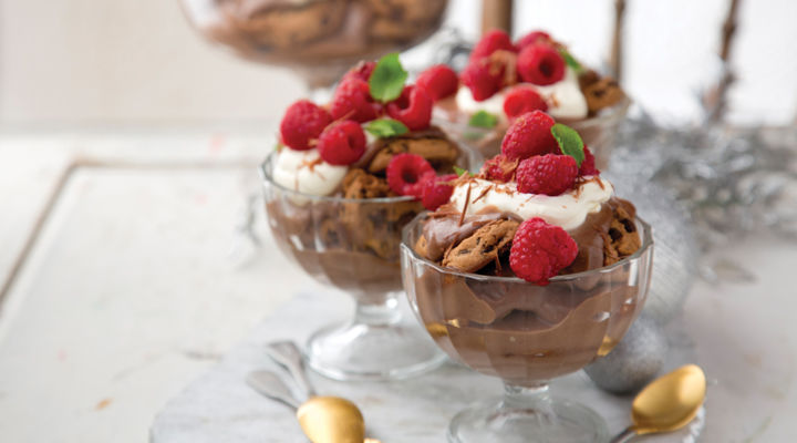 Treble Chocolate Trifle