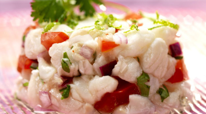 Ceviche with Irish Hake