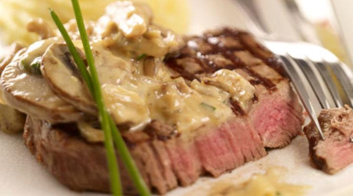 fillet of beef with wild mushroom cream sauce supervalu