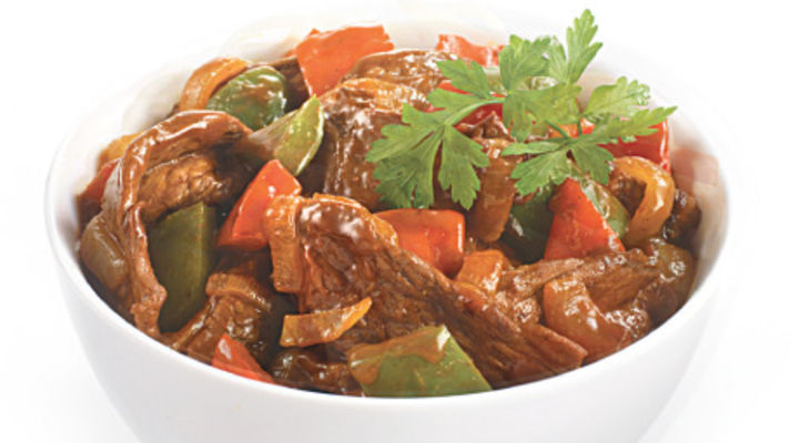 Sizzling Beef Stirfry
