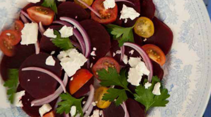 Juliet's Feta & Beetroot Salad