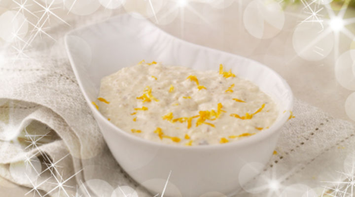 Bread Sauce with Orange Zest