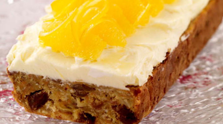 Carrot Cake With Orange Cream Cheese Frosting Recipe ...