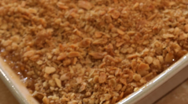 Crumble Mix, Sweet & Savoury