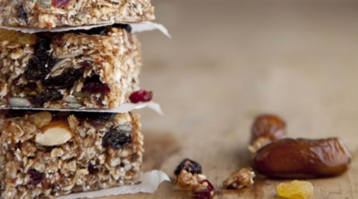 Gluten Free Fruit, Nut and Seed Garnola Bars