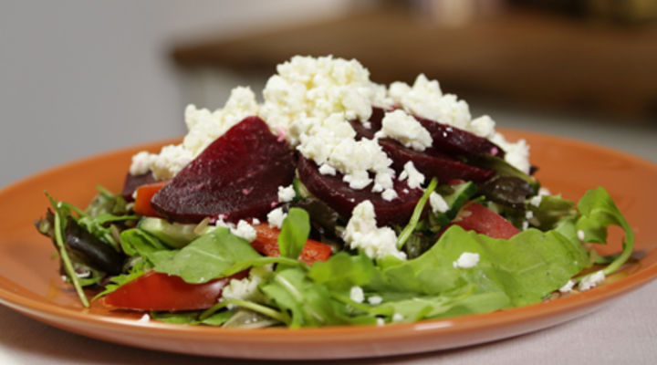 Monday Jan 19th - Goats Cheese and Beetroot Salad