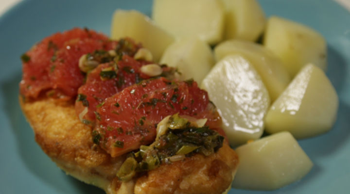 Tuesday Jan 20th - Grapefruit and Tarragon Chicken