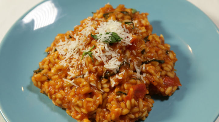 Monday 2nd Feb - Creamy Tomato Risotto