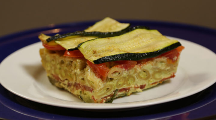 Monday 16th Feb - Cheese and Courgette Pesto Bake
