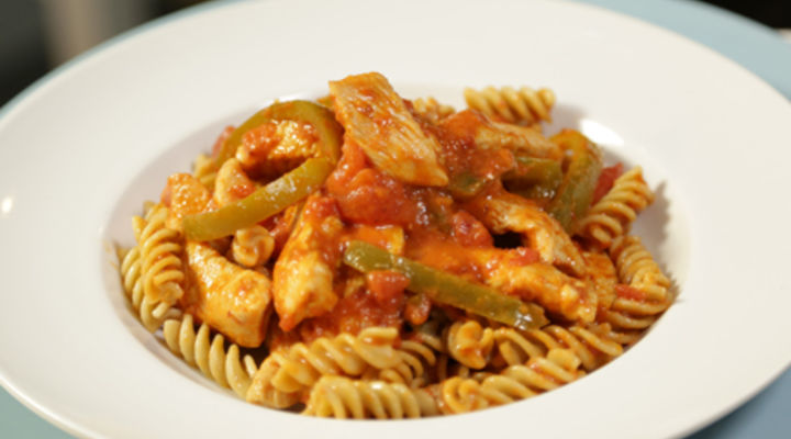 Sunday Jan 11th - Creamy Spicy Turkey Pasta