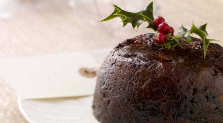Christmas Pudding Recipe.Traditional Christmas Pudding