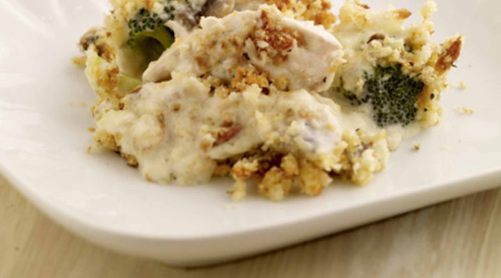 Chicken and Vegetable Gratin