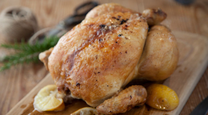 Roasted Lemon and Garlic Chicken